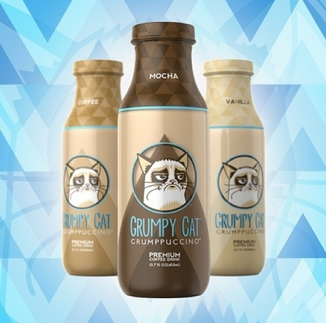 Community Post: Grumpy Cat HQ Unveils Its Own Line Of Coffee So You Can Now Literally Drink In The Hate