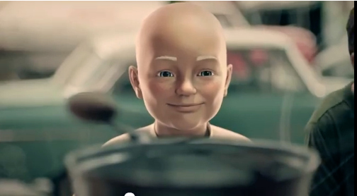 Young Mr. Clean Is Creepy As All Get-Out