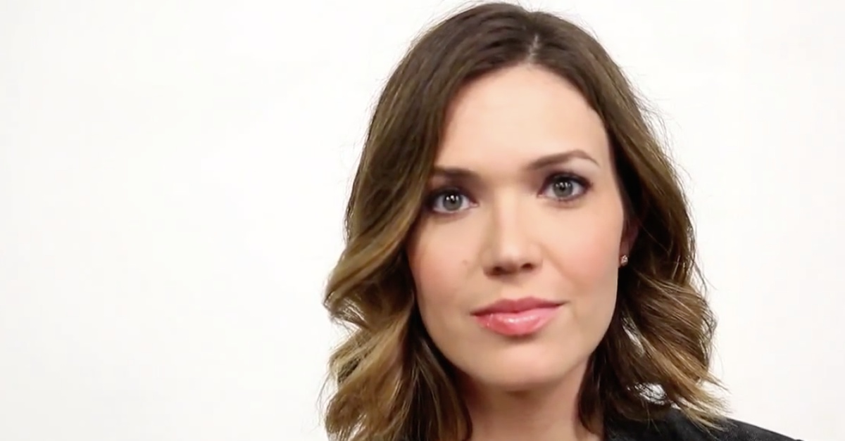 Mandy Moore Points Out Something About The Ebola Epidemic That The News Isn't Really Reporting