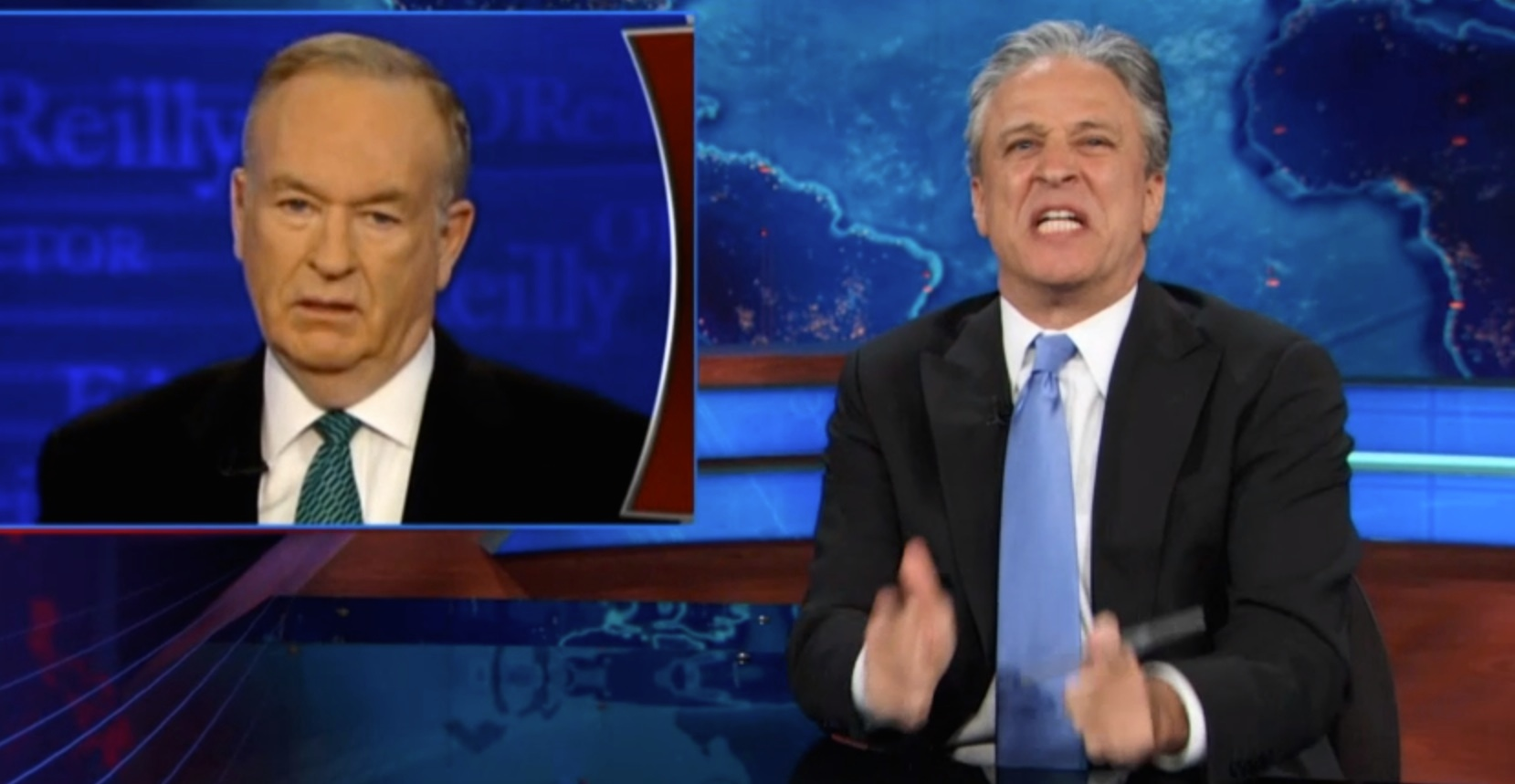 Sometimes Jon Stewart Is Mean To Bill O'Reilly For No Reason. This Is Not One Of Those Times.