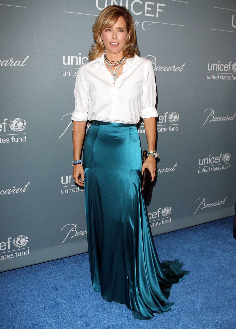 Tea Leoni At The 2014 UNICEF Ball Held In Beverly Hills