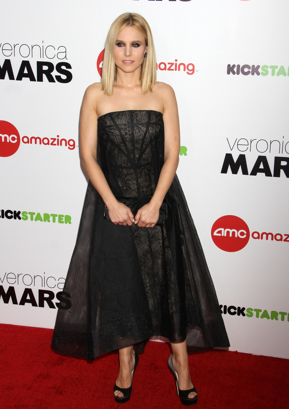 Kristen Bell At The 'Veronica Mars' Screening In New York City