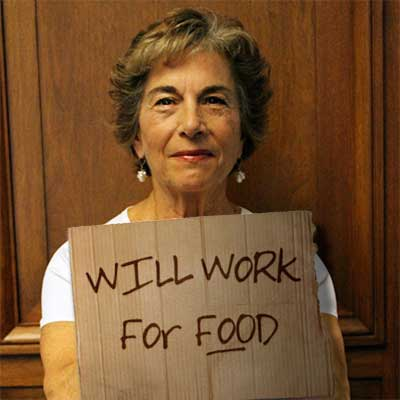 Rep. Jan Schakowsky reports some weight loss trying to #LiveTheWage
