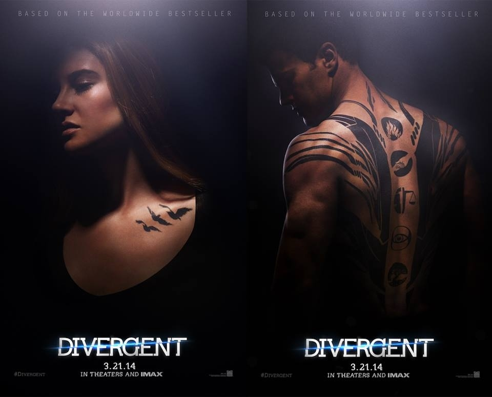 "The First Official ""Divergent"" Movie Posters Have Been Revealed"