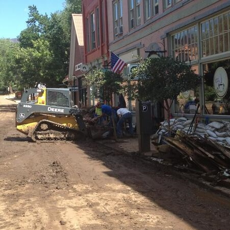 Road to recovery: Cleanup continues after devastating flood in Manitou Springs, Colo.[photos]