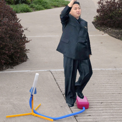 Photo from latest North Korean rocket launch
