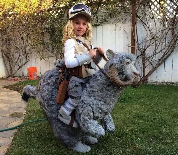 Out of all the Star Wars costumes for kids I've seen, this is probably the best.