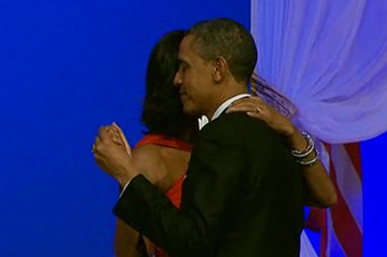 VIDEO: Barack And Michelle Obama Dance At Commander In Chief's Inaugural Ball