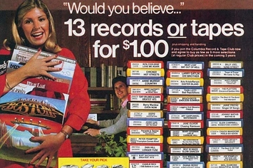 Remember When You Got Suckered Into Joining Columbia House?