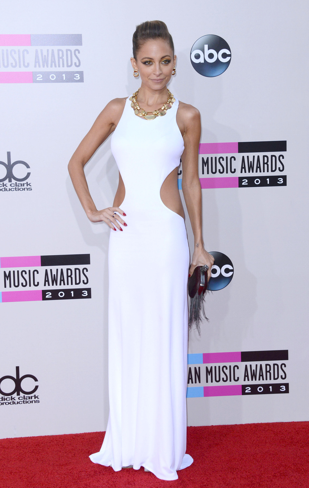 Nicole Richie At The 2013 American Music Awards In L.A.