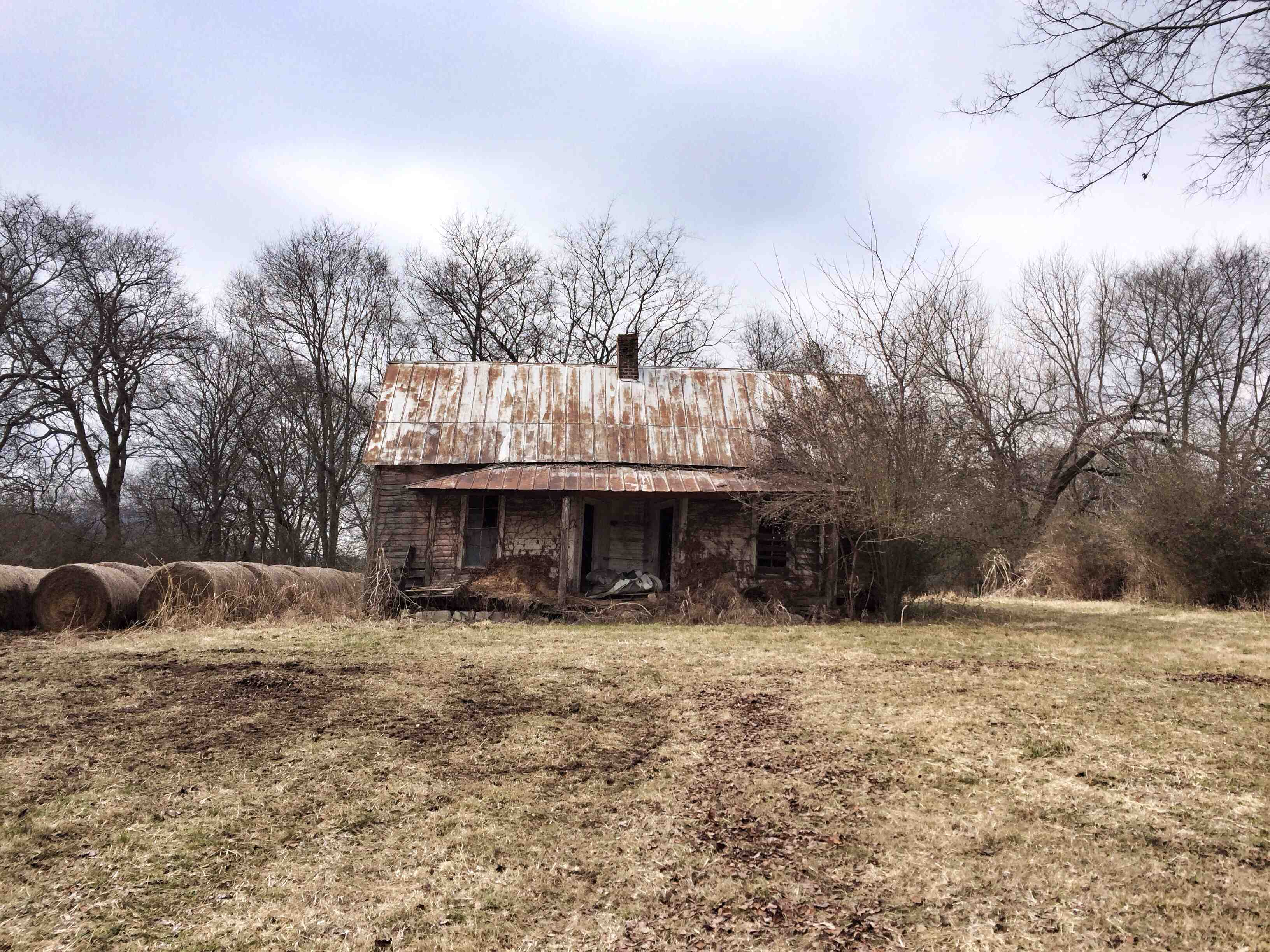 This slave house is still standing on my family's farm in Tennessee. Not proud of it, but a part of history nonetheless. Before my family, the land belonged to the Cherokee. Not proud of that either.