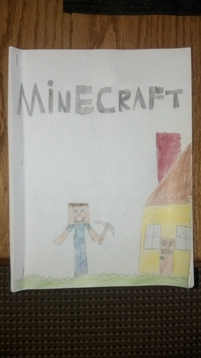 My 8yr old sons guide to Minecraft