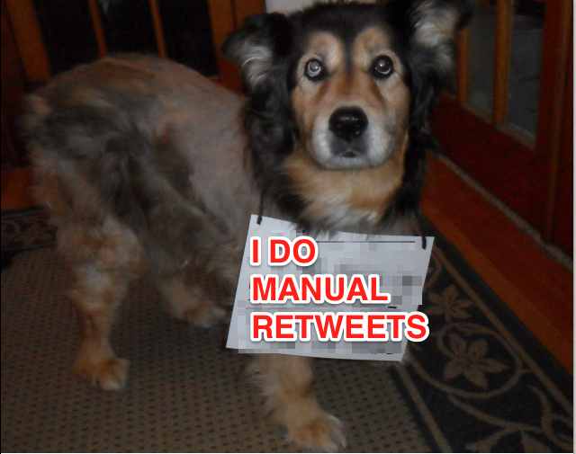 The Latest Twitter Trend: Manual Retweet Shaming