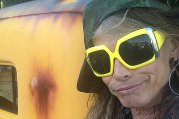"Steven Tyler Is ""Headed 2 The Bamboo Forest"""