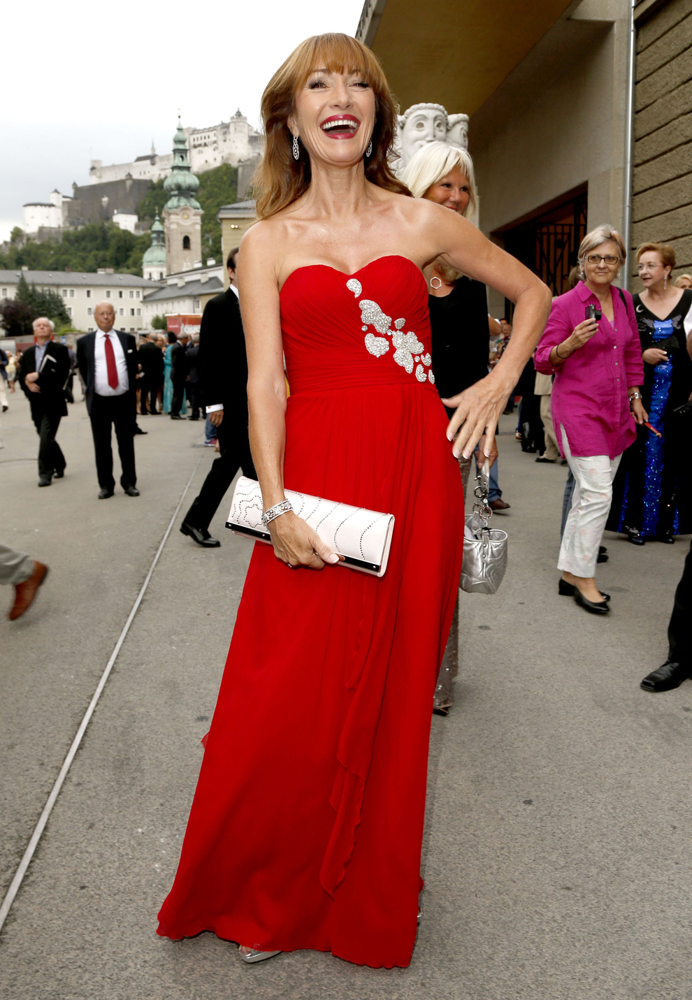 "Jane Seymour At The Premiere Of ""Fallstaff"""