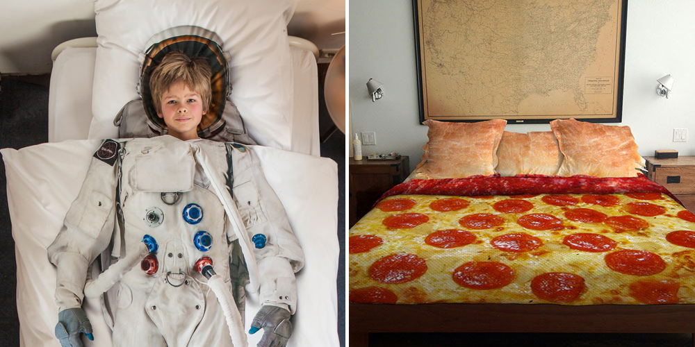 20 Cool And Creative Bed Covers