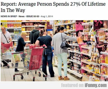 Raport: Average Person Spends