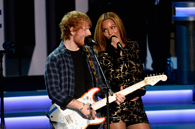 Watch Beyoncé And Ed Sheeran Duet For A Stevie Wonder Tribute
