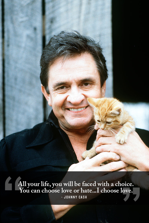 24 Life-Affirming Words Of Wisdom From Johnny Cash