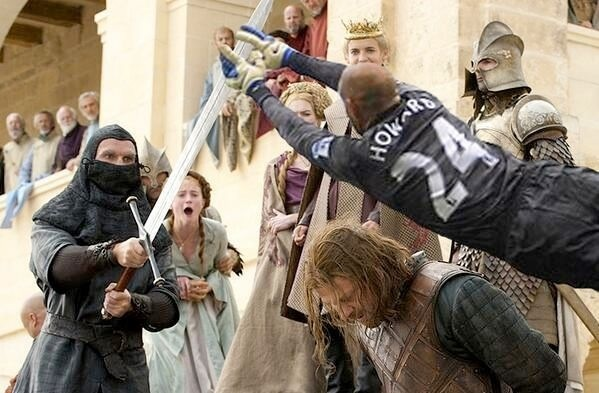 If Tim Howard was in Game Of Thrones