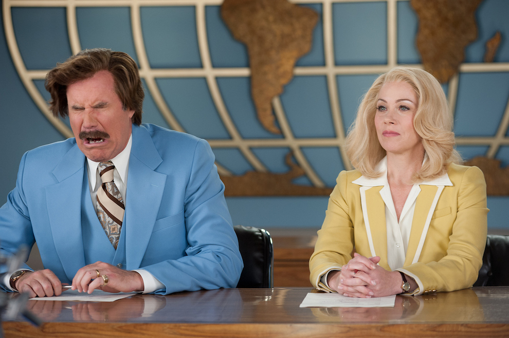"""Anchorman 2"" Barely Outdid ""Anchorman"" At The Box Office"