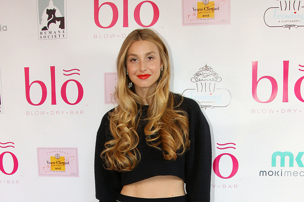 Whitney Port At The Blo Blow Dry Bar Event In Washington D.C