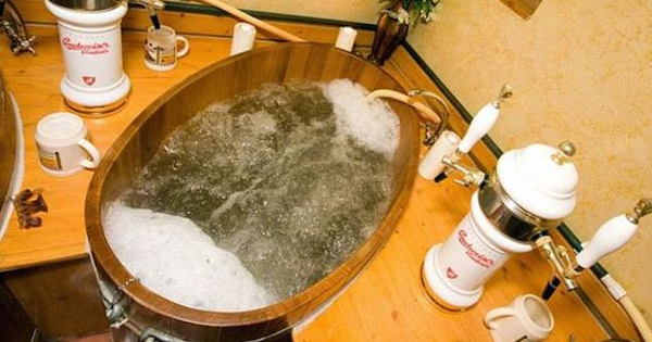 Ever Wanted To Take A Bath In Beer? Well, Here's Your Chance.