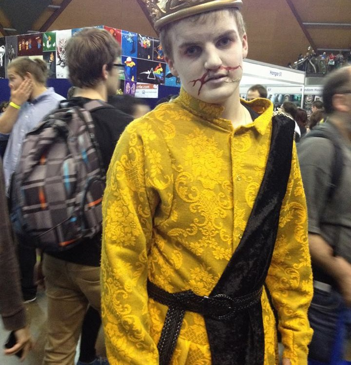 A friends Joffrey cosplay for Sydney Supernova
