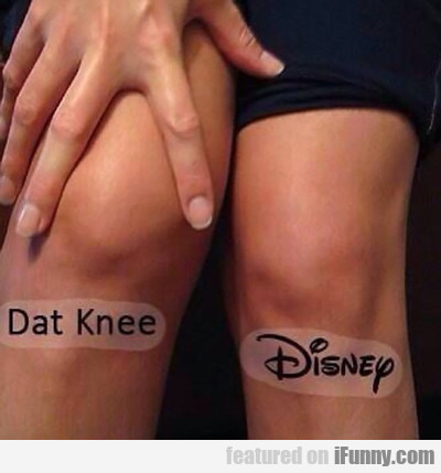 Dat Knee, Disney