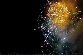Watching Fireworks In Reverse Is Mesmerizing