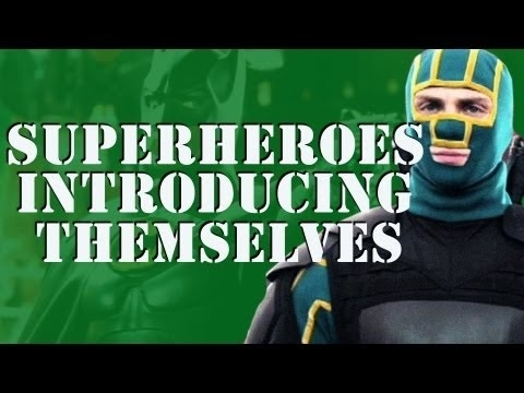 Community Post: A Supercut Of Superheroes Introducing Themselves