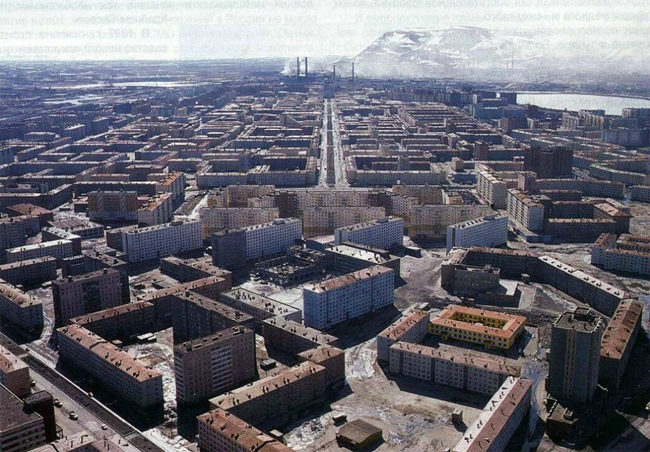 The most depressing city I ever seen, Norilsk, Russia.