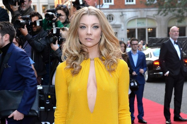 Natalie Dormer At The 2014 GQ Men Of The Year Awards