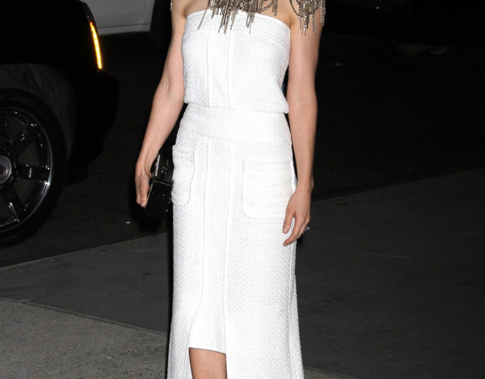 Jessica Biel At The Museum Of Modern Art 2013 Film Benefit In New York City