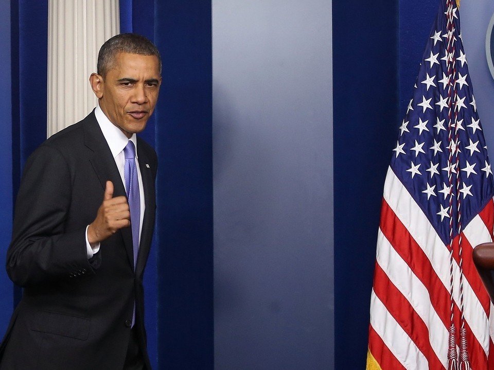 Obama Signs Bill To End Government Shutdown, Lift Debt Ceiling