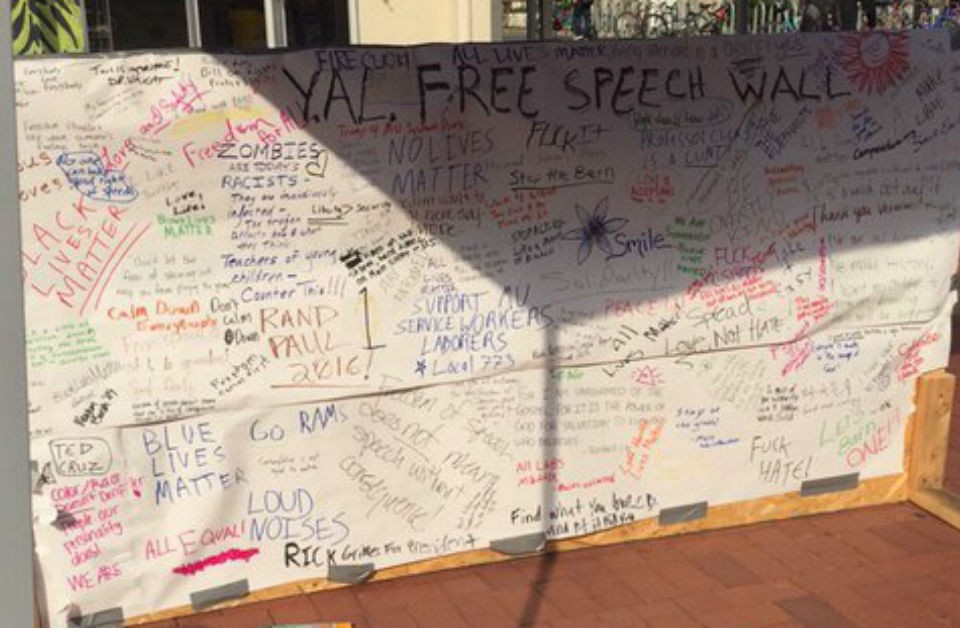 'Blue Lives Matter' spotted on 'Free Speech Wall' at Mizzou [photos]