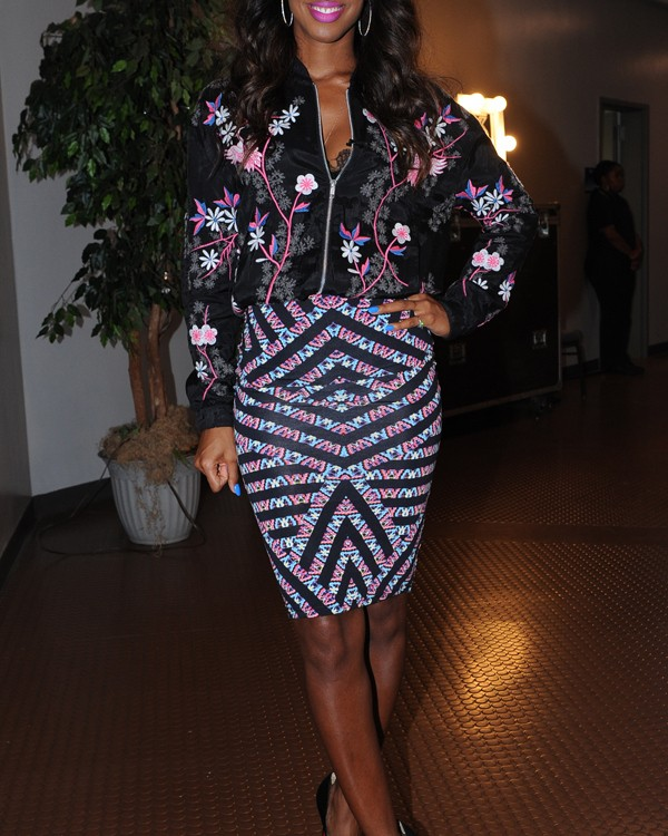 Kelly Rowland At The X-Factor New Orleans Auditions