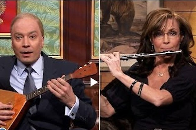 Sarah Palin Appears On Jimmy Fallon In Hilarious Putin Sketch
