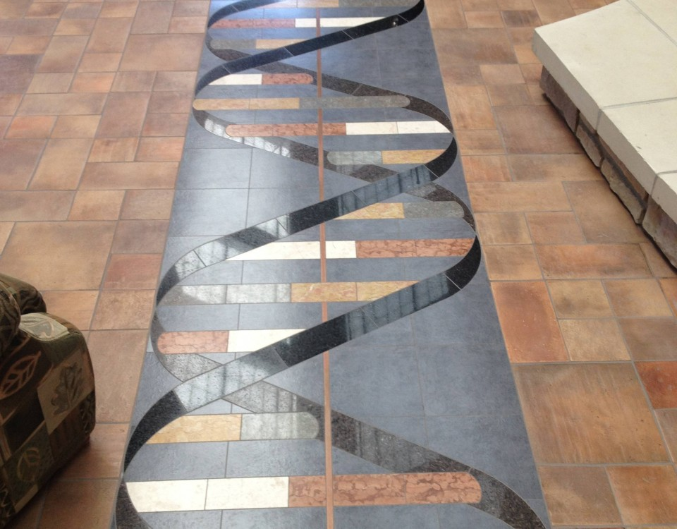Coolest floor I have ever seen made out of marble