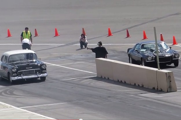 Watch This Drag Racer Flip Four Times Then Walk Away From The Crash