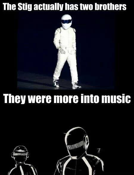 Some Say the Stig was the eldest of three