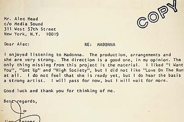 12 Incredibly Ill-Advised Rejection Letters