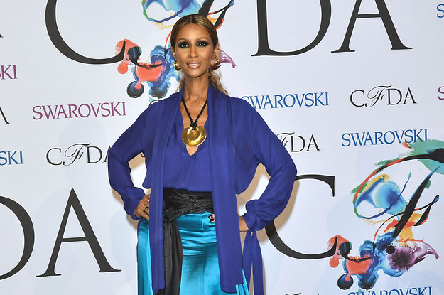 Iman At The 2014 CFDA Fashion Awards In New York City