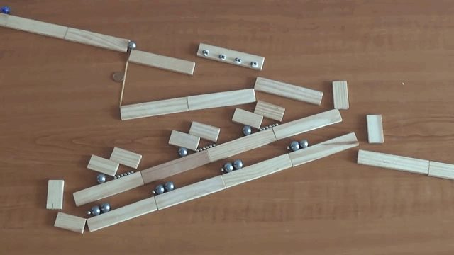 Magnets and Marbles Rube Goldberg PythagoraSwitch