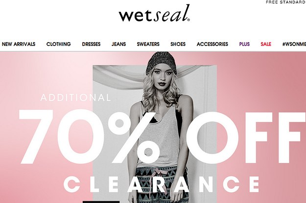 Wet Seal Files For Bankruptcy