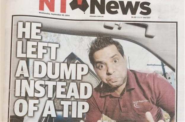 This Australian Newspaper Front Page Is Hilariously Crude