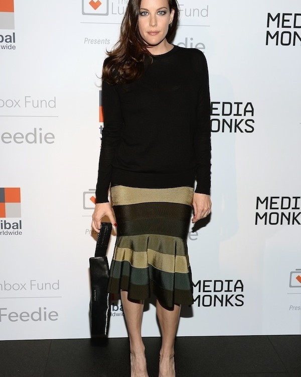Liv Tyler At The Lunchbox Fund Fall Fête In New York City