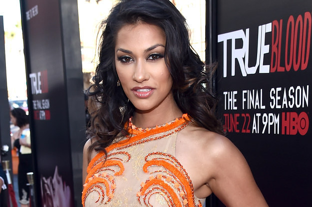 "Janina Gavankar At The ""True Blood"" Season 7 Premiere"