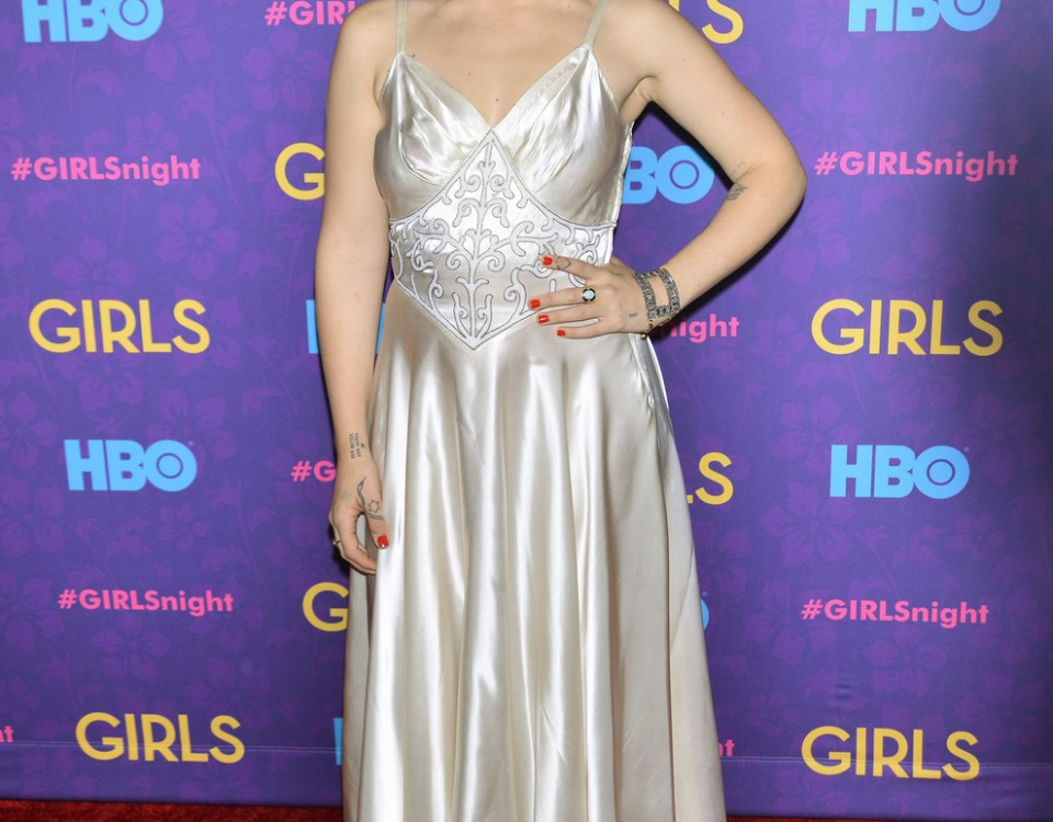 Jemima Kirke At The 'Girls' Season Three Premiere In New York City