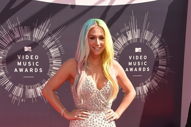 Kesha At The 2014 MTV Video Music Awards